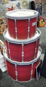3-D COLD BENDABILITY made our drums a hit!